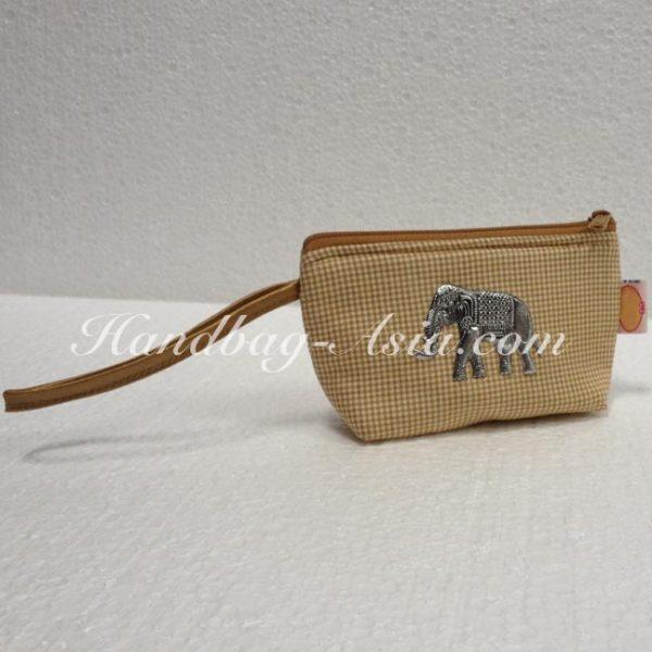 small cotton phone bag