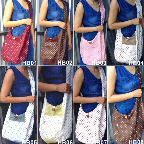 cotton hobo bags