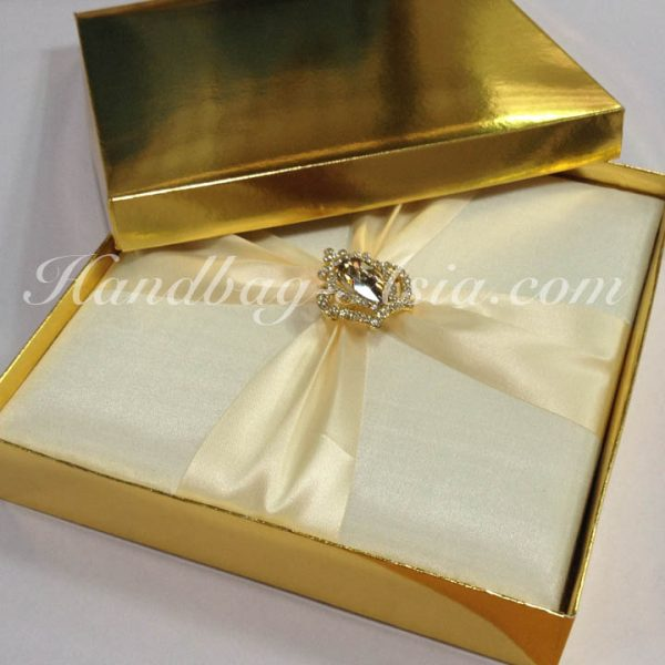 Golden mailing box