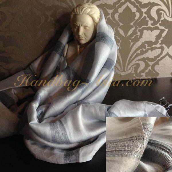 hand-woven silk shawls
