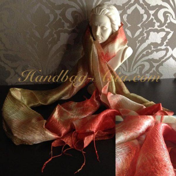thai silk shawl from Chiang Mai