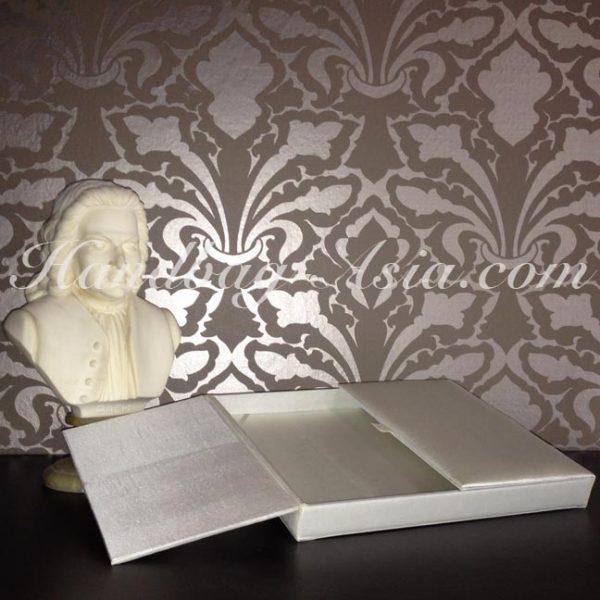 ivory wedding box