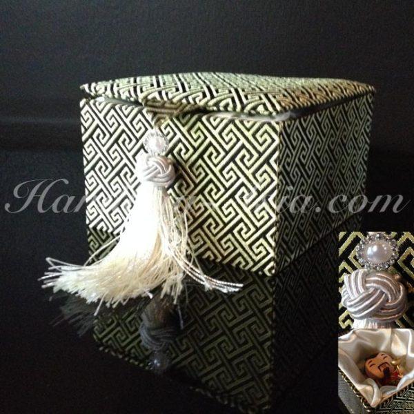 Chinese silk gift box