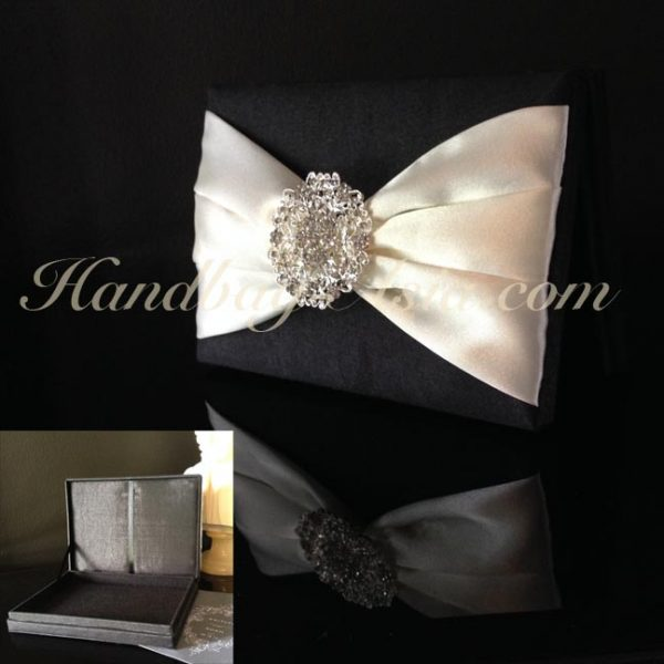 luxury black wedding box