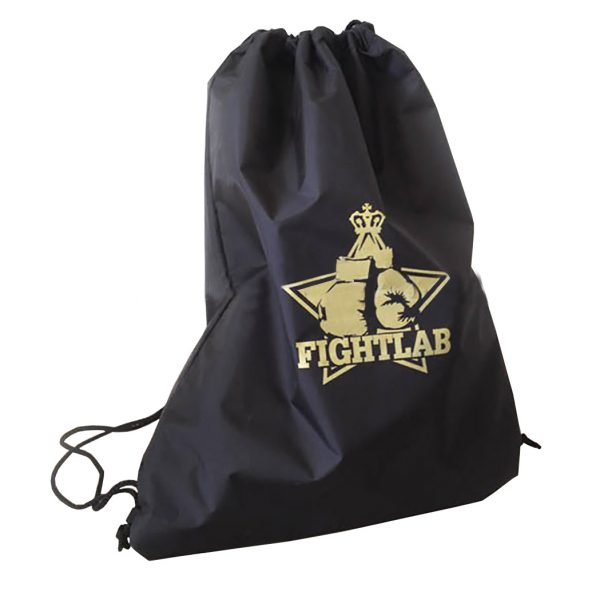 Sports boxing glove drawstring backpack