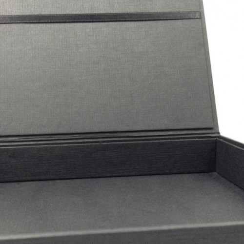Black wedding box