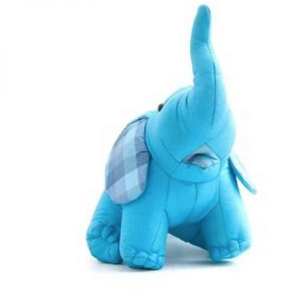 blue Thai silk elephant