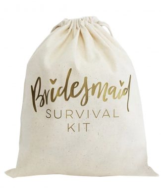 Bridesmaid Survival Kit Bag