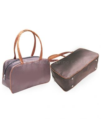 brown silk fashion bags