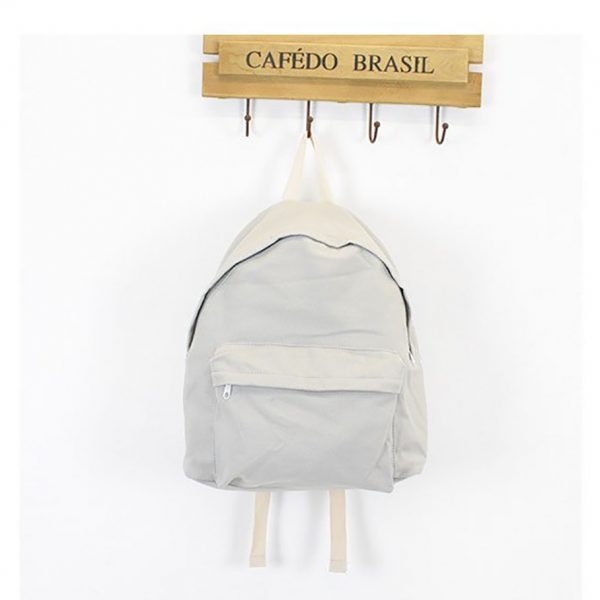 simple cotton backpack
