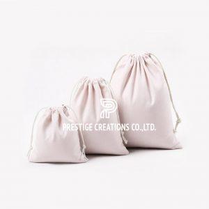 cotton drawstring bag supply