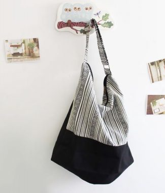 cotton shoulder bag from Thailand