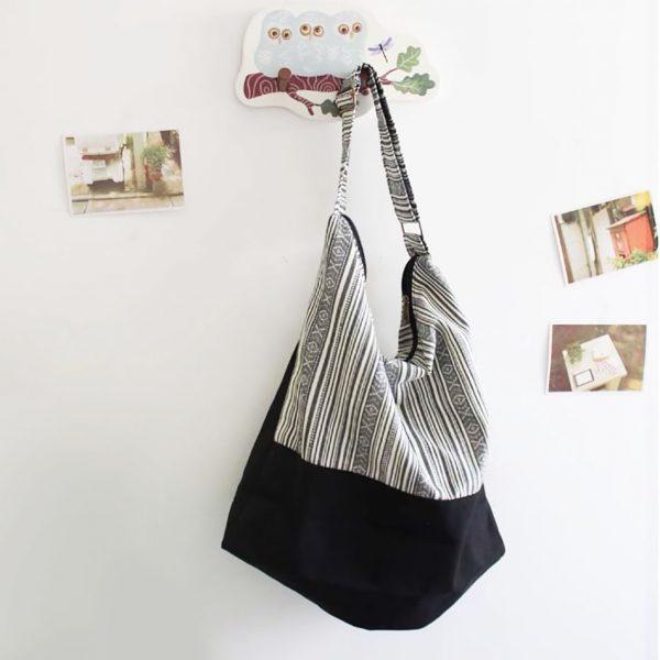 cotton shoulder bag from Thailand