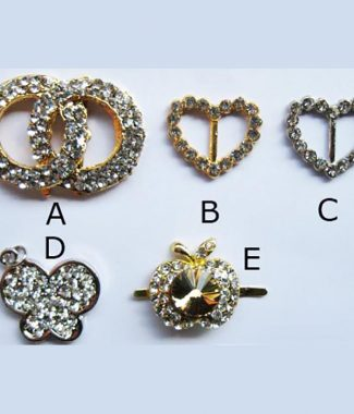 Crystal buckle collection