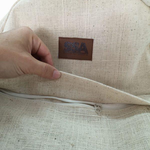front bag of hemp backpack