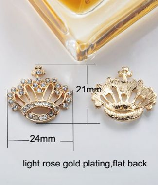 golden crown brooches