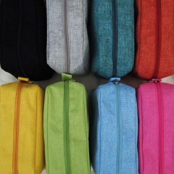colorful hemp cosmetic bag