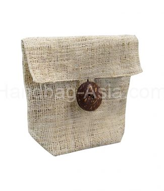 hemp cosmetic bag for soap and spa sets