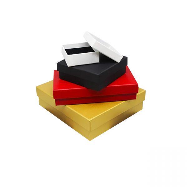 high quality square rigid boxes