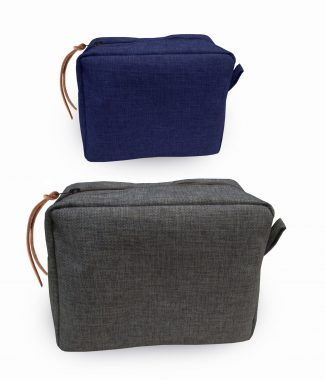Durable pure hemp cosmetic bag