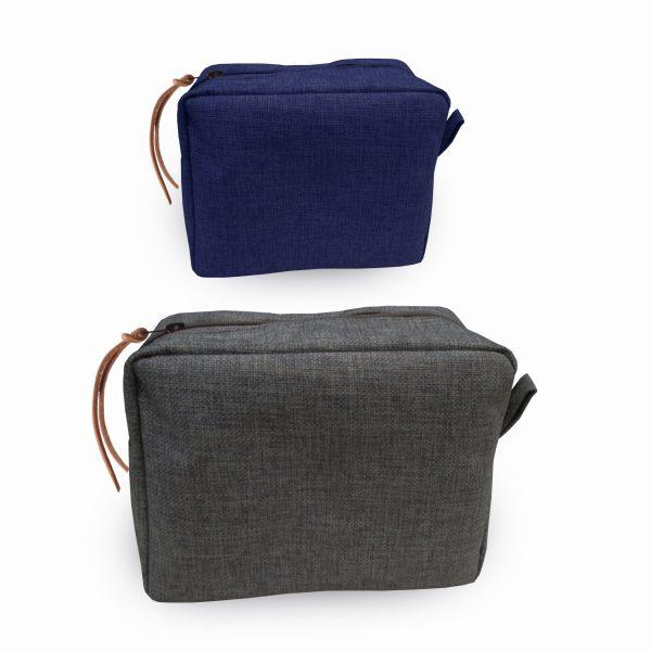 Durable pure hemp cosmetic bag