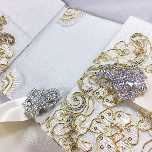 Luxury lace folder for wedding cards