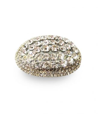 Large wedding brooch