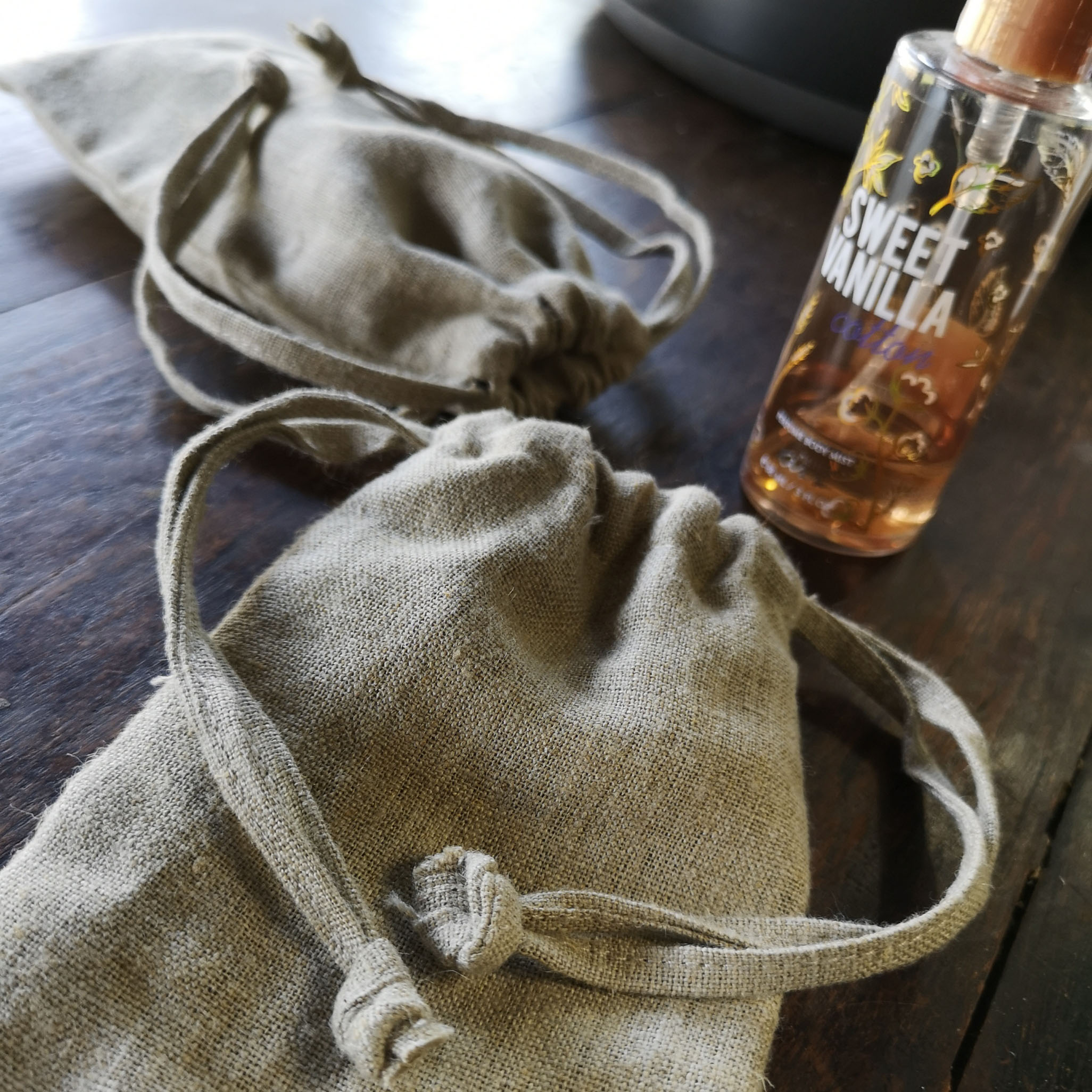 Linen eco bag