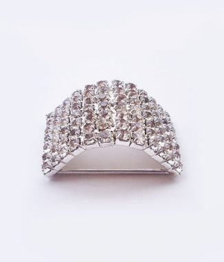 Luxury crystal buckle