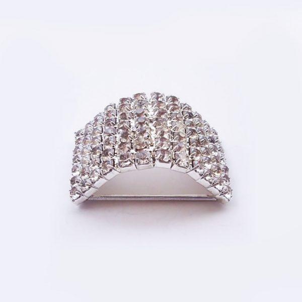 Luxury crystal buckle