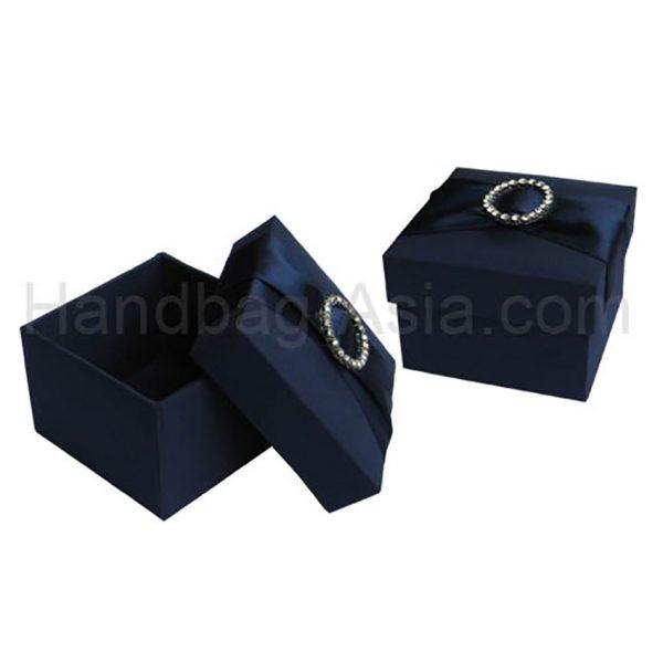 midnight blue wedding favor box