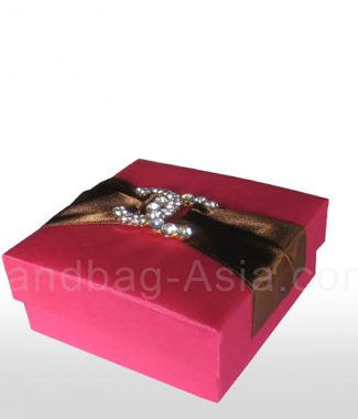 luxury pink wedding gift box