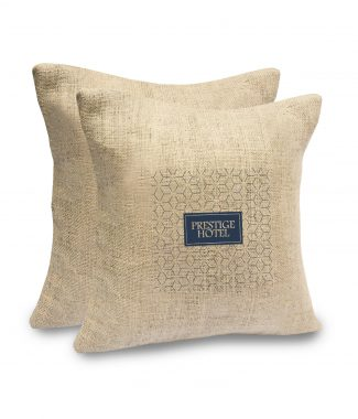Hemp cushion cover