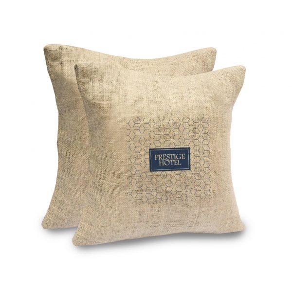 Hemp cushion cover