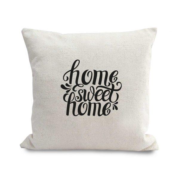 printed hemp cushion