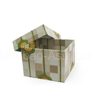 printed paper wedding favor box