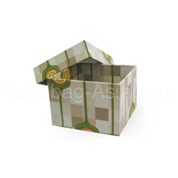 printed paper wedding favor box