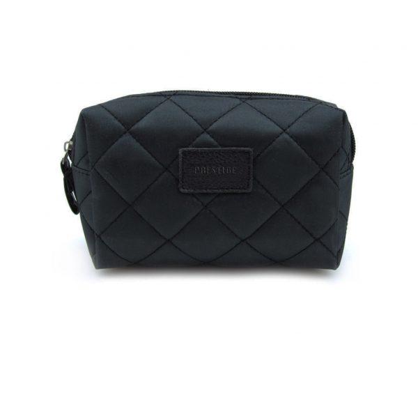 plain cotton quilt cosmetic bag