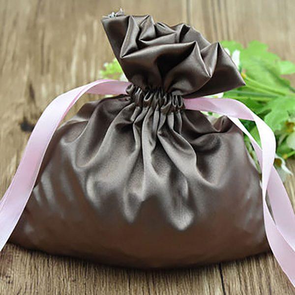 silk drawstring bags