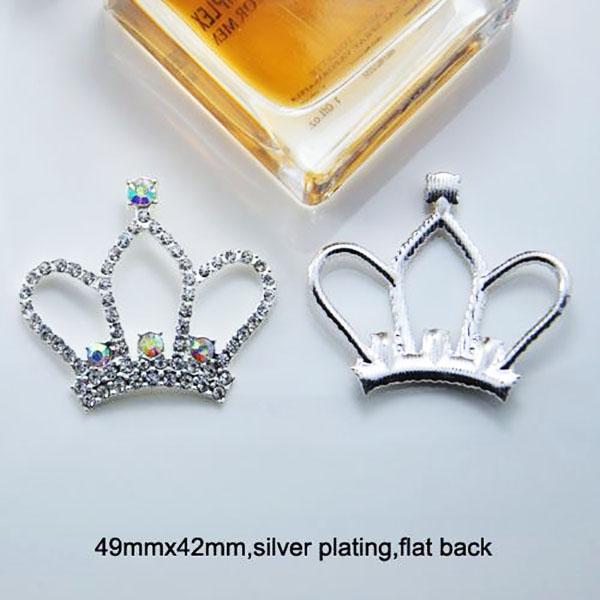 tiara flatback brooch