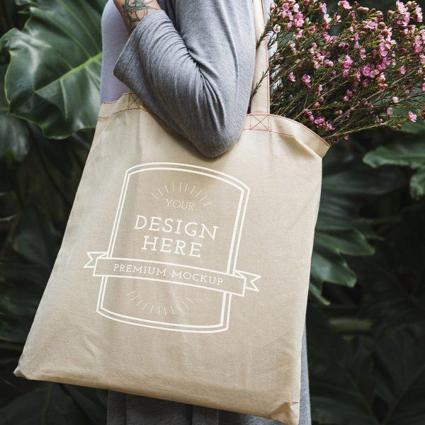 Lareg cotton tote bag sold for wholesale