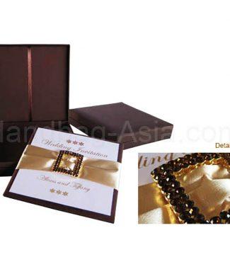 Wholesale Embellished Invitation Boxes Wedding Boxed
