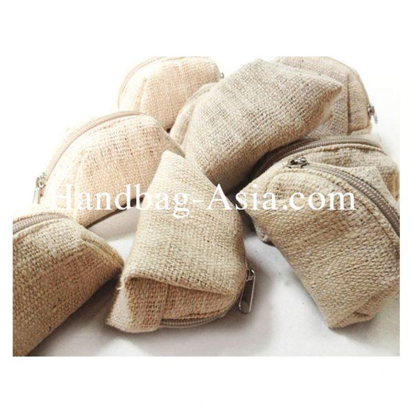 zippered hemp eco pouches