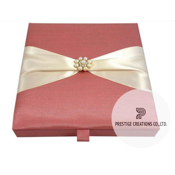 pearl wedding box for invitations