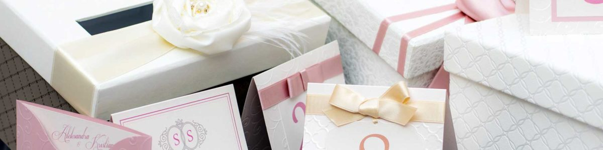 luxury couture wedding invitations & stationary