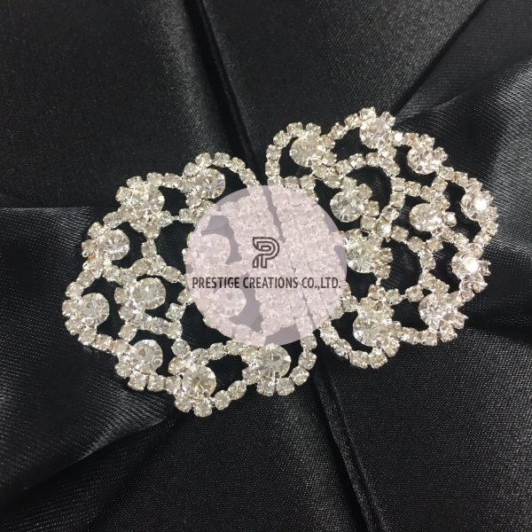 rhinestone clasp wedding embellishment