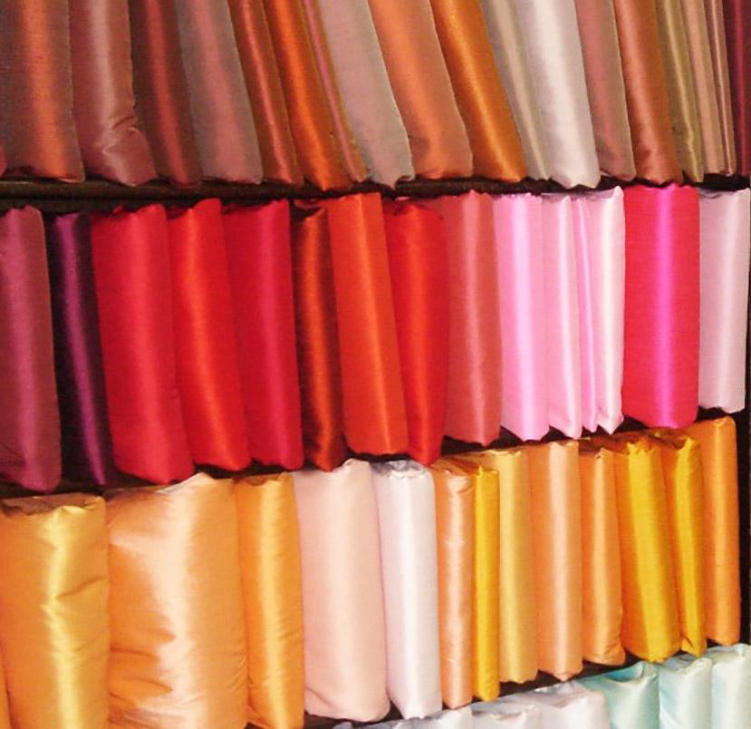 Thai Wedding Gifts: Handwoven Thai Silk Fabric Wholesale From Chiang Mai, Thailand
