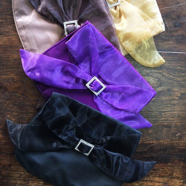 Thai silk evening bags