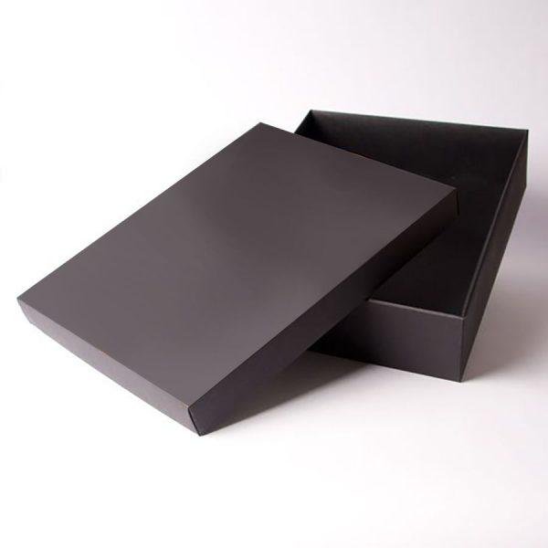 Black mailer for wedding invitations