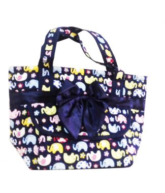 elephant cotton ladies bags